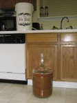 Transferring to carboy photo