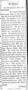 Cicero Breland obituary