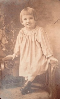 My Aunt Louise as a young girl.